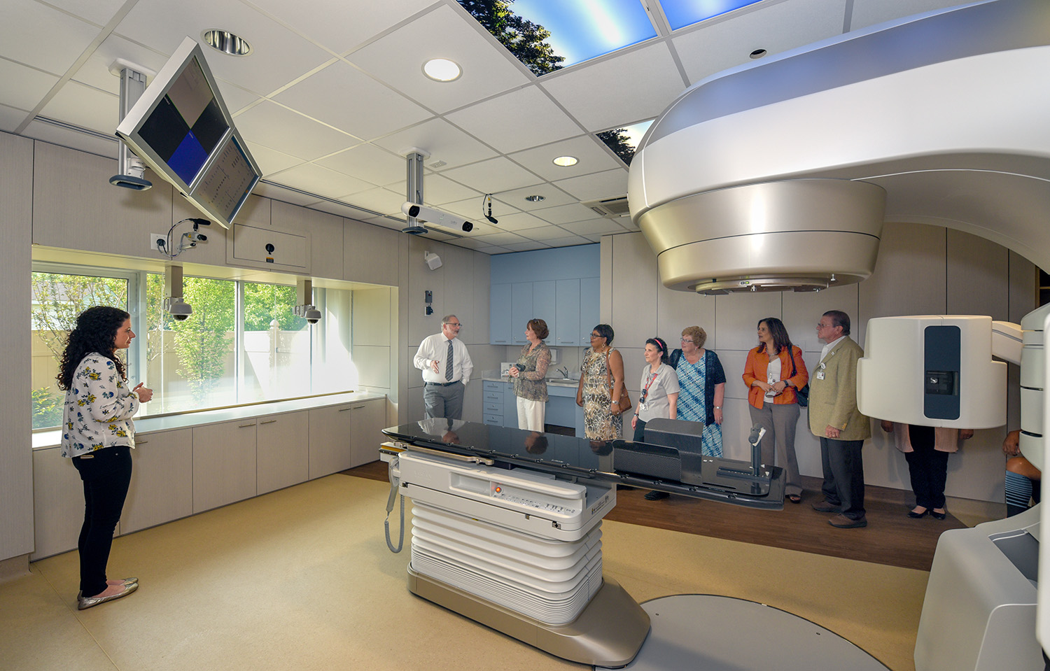 Inspira's new Radiation Oncology Center