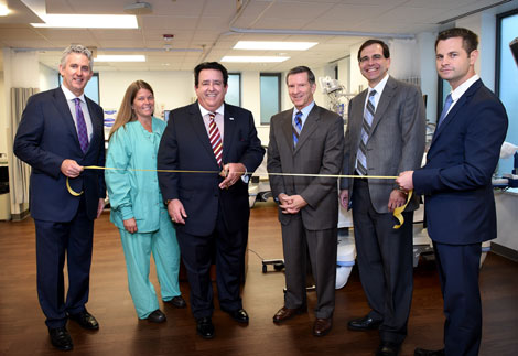 Ribbon-cutting at new Jefferson Digestive Health at Inspira Medical Center Woodbury.