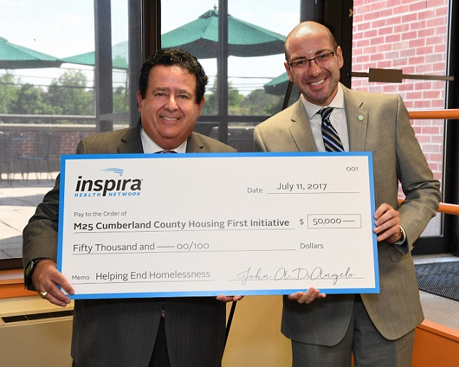 John DiAngelo, President and CEO of Inspira and Dr. Robin Weinstein, founder and president of M25 Coalition