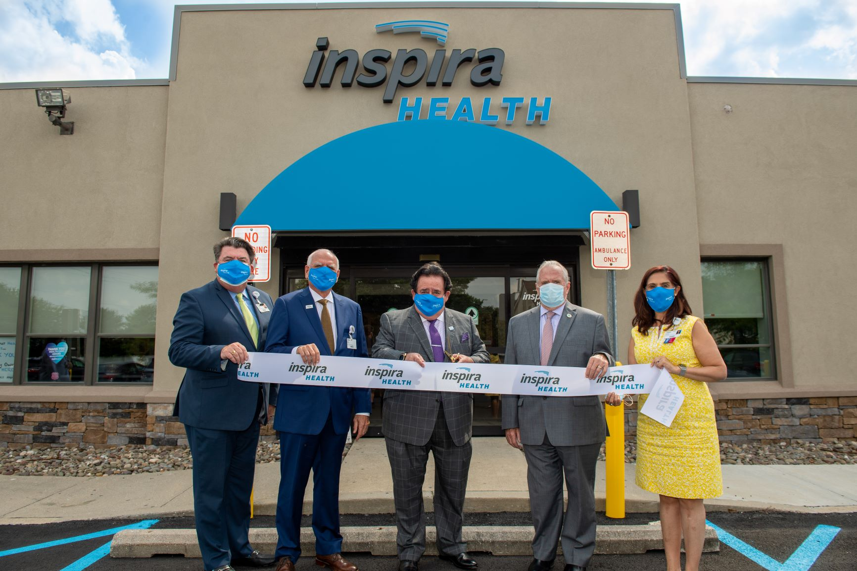 Inspira employees at the opening of their Sicklerville location