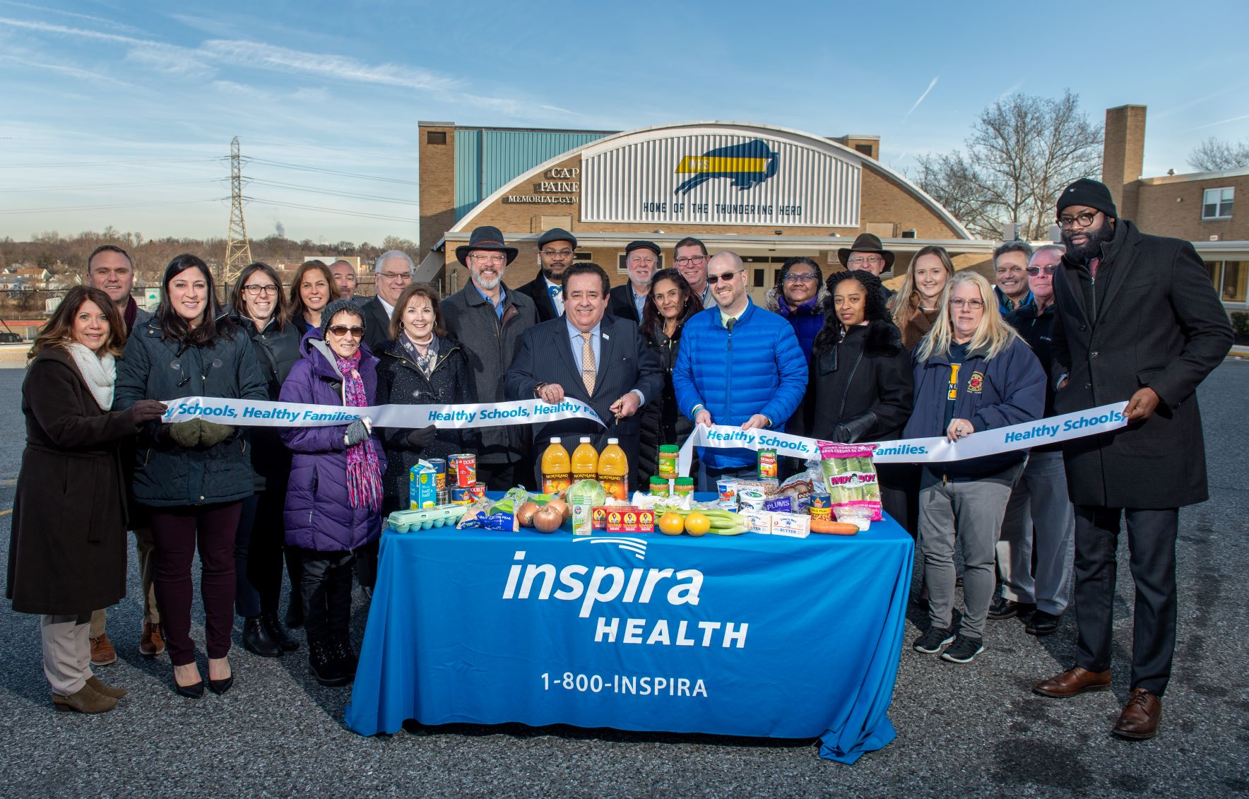 Woodbury Food Pantry Ribbon Cutting