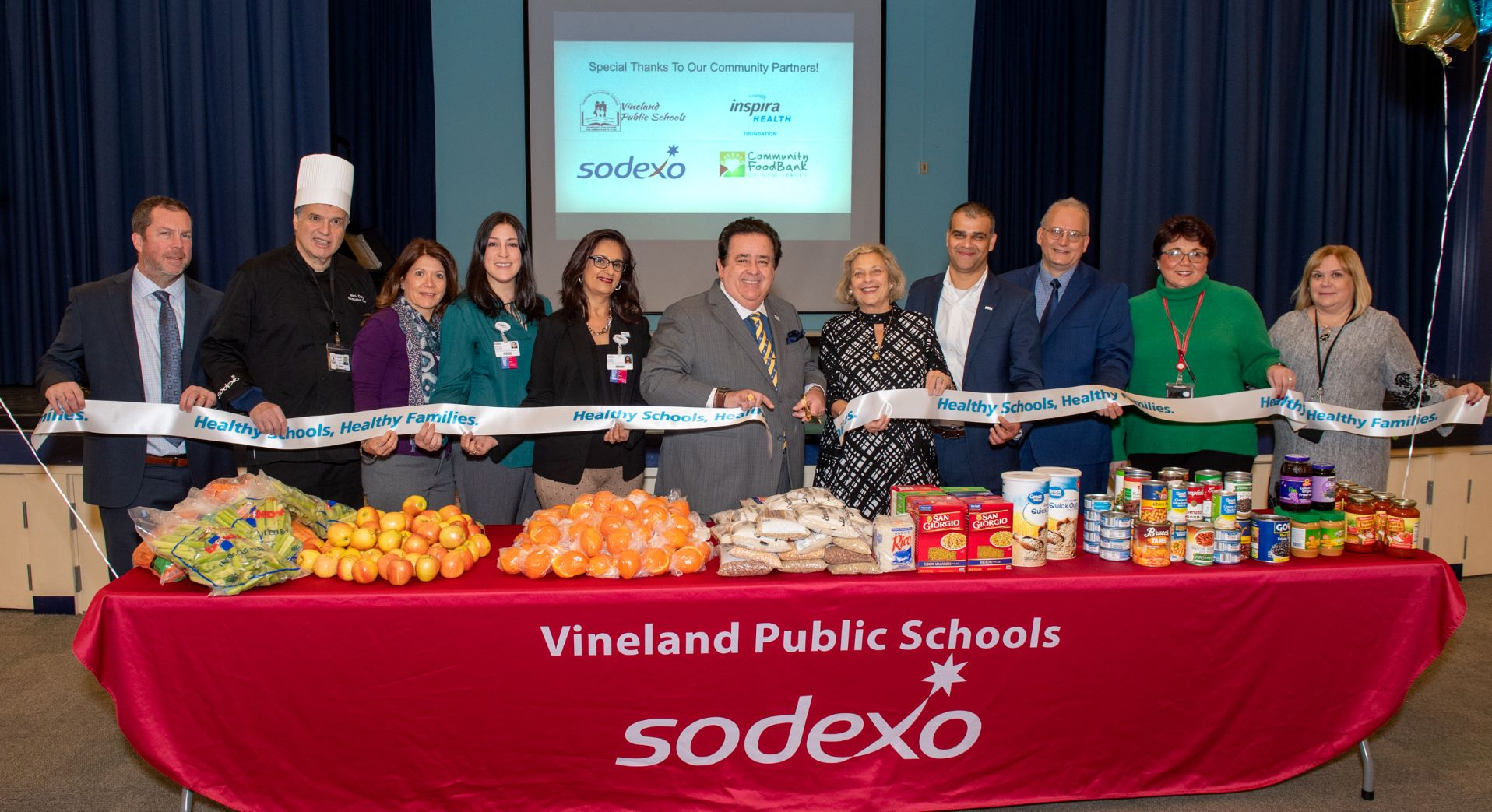 Vineland Food Pantry Ribbon Cutting